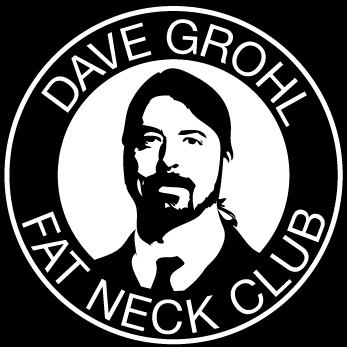 Dave Grohl Fat Neck Club Logo